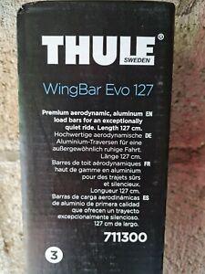 Thule WingBar Evo 127 Pair of 2 *BRAND NEW* 711300