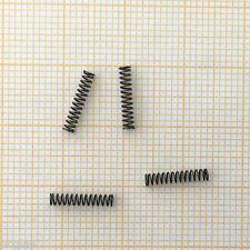 4 x Druckfeder, Länge 10,4mm, Außen Ø2mm, Drahtstärke 0,25mm