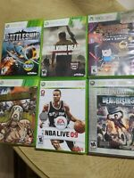 Xbox 360 Video Game Lot Bundle