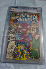INFINITY GAUNTLET 5 CGC GRADED 9.6 WHITE PAGES THANOS AVENGERS