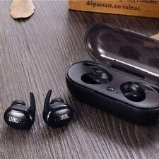 New JBL Sport TWS 4 Wireless Earbuds In-Ear with Built-In Mic Black