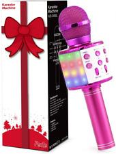 Fede Karaoke Mikrofon für Kinder Bluetooth USB mit Geschenkverpackung Neu