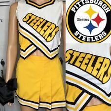 Real Cheerleading Uniform Vintage Steelers Adult S