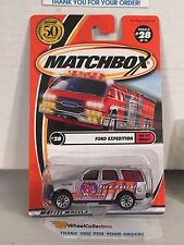 Ford Expedition #28 * Silver * Matchbox * NA27
