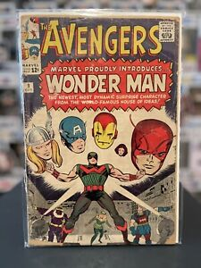 Avengers 9 1st Wonder Man Key Issue 1964