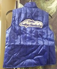 Rare! Official Vtg 1970'S NFL DALLAS Cowboys Cheerleader's Girl's Vest Large L