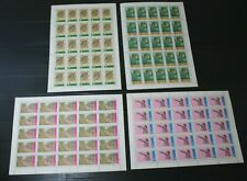 vietnam stamps - very good & rare set stamps come on 4 sheets h.q.v m.n.h