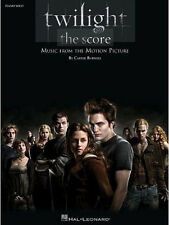 TWILIGHT SAGA MUSIC FROM THE MOTION PICTURE SONG BOOK PIANO SOLOS SONGBOOK