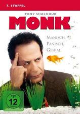 4 DVDs * MONK - STAFFEL 7 # NEU OVP