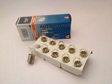50 pezzi lampada OSRAM 12v 10w ba15s Lampada LAMPADINA SFERA LAMPADA r10w 5008 ECE r37