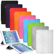 New 9 Colors Ultra Slimt and Smart wake Up Option Stand Sase Cover for iPad Mini