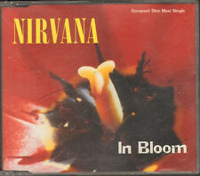 NIRVANA In Bloom CD SINGLE 3 track Sliver LIVE Polly 1992 KURT COBAIN