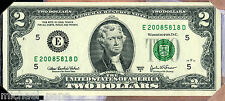 2008 BEP $2 Single Note - Richmond - SOLD OUT AT BEP