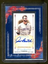 JOSE BAUTISTA AUTO 2011 TOPPS ALLEN & GINTERS MINT  BEAUTIFUL ONCARD AUTO