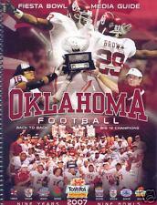 2008 Oklahoma Sooners Fiesta Bowl Media Guide