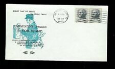 1229A George Washington Luminescent Tagged 10/29/1963 Dayton Ohio Neare Cachet