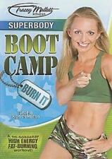 TRACEY MALLETT FITNESS SUPERBODY BOOT CAMP BURN IT DVD BOOTCAMP WORKOUT EXERCISE