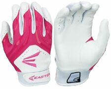 Easton HF3 Woman's Small Fastpitch Gloves White/Pink, new