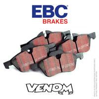 EBC Ultimax Rear Brake Pads for Renault Megane Mk4 Hatch 1.2 Turbo 100 16- DP680