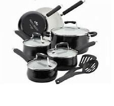 Paula Deen Savannah Collection Aluminum Nonstick 12-PC Cookware Set  NEW IN BOX