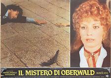 FOTOBUSTA 2, IL MISTERO DI OBERWALD, ANTONIONI, MONICA VITTI, COCTEAU, POSTER