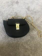 black chain cross body bag