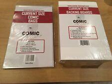 50x Strom/Neuzeit Comic Concept Backing Boards & Taschen