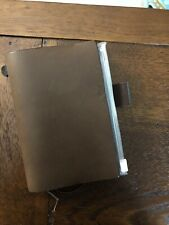 Midori Passport Size Brown Travelers Notebook USED with Accessories