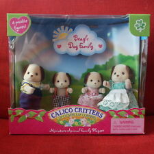 Calico Critters BEAGLE DOG FAMILY #CC2005 Retired Sylvanian Families