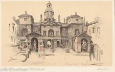 London Printed Collectable Artist Signed Postcards