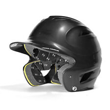 Under Armour Solid Molded Baseball Batting Helmet - Adult - Black