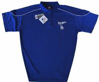 Los Angeles Dodgers MLB Men's Majestic Athletic Polo Shirt Big & Tall Sizes NWT