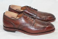 $385 Allen Edmonds 'Madison Park' Wingtip Oxfords - Brown - Size 9 3E (W65)