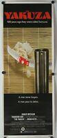 """The Yakuza 1974 Original Insert Movie Poster 14"""" x 36"""""""
