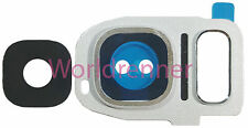 Lente Cámara W Cubierta Camera Lens Frame Original Glass Samsung Galaxy S7 Edge