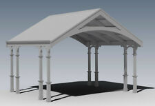 TRADITIONAL HERITAGE CARPORT / VERANDAH - V04 - Full Building Plans
