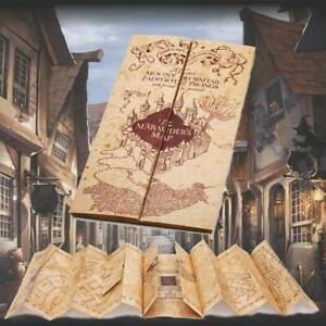 Harry Potter Marauders Map Replica Treasure Hunt Map Movie Prop