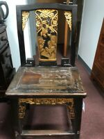 Antique chair of over 150 years, Ming Qing dynasty, original
