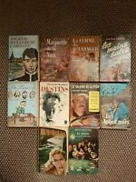 """Lot de 10 livres - Collection """"LE LIVRE DE POCHE"""""""