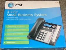 Atampt Att1040 4 Line Phone Small Business System Compatible With 1070 Amp 1080