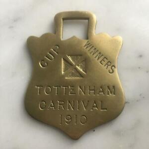 Tottenham Carnival Cup Winners 1910 Horse Brass