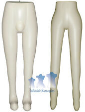 His & Her Special - Inflatable Mannequin - Leg Forms, Ivory