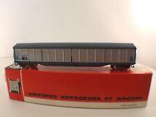 JOUEF boîte 5610 wagon voyageurs Pullman + Wagon Marchandises couvert  en HO