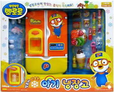 Pororo Character Refrigerator Fridge Toy For Kids Freezer Food Accessories