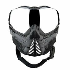 Push Unite Paintball Goggles Mask with Quad Pane Lens and Case (Infamous.