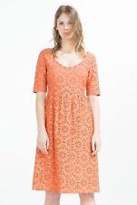 Zara Basic Orange Dress Size S