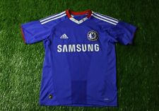 CHELSEA LONDON 2010/2011 FOOTBALL SHIRT JERSEY HOME ADIDAS ORIGINAL SIZE YOUNG L