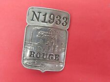 Original Ford factory Rouge plant employee badge #N1933 no Reserve