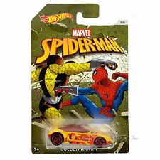 Mattel Hot Wheels Dwd14 Marvel Limited Basic car Spider