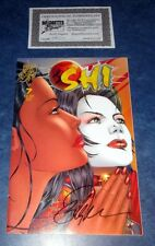 SHI WAY OF THE WARRIOR #7 signed 1st print BILLY TUCCI CRUSADE COMIC 1994 NM COA